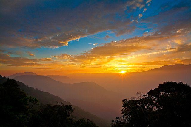 Sunset @ Meifong 梅峰日落 by olvwu | 莫方, via Flickr