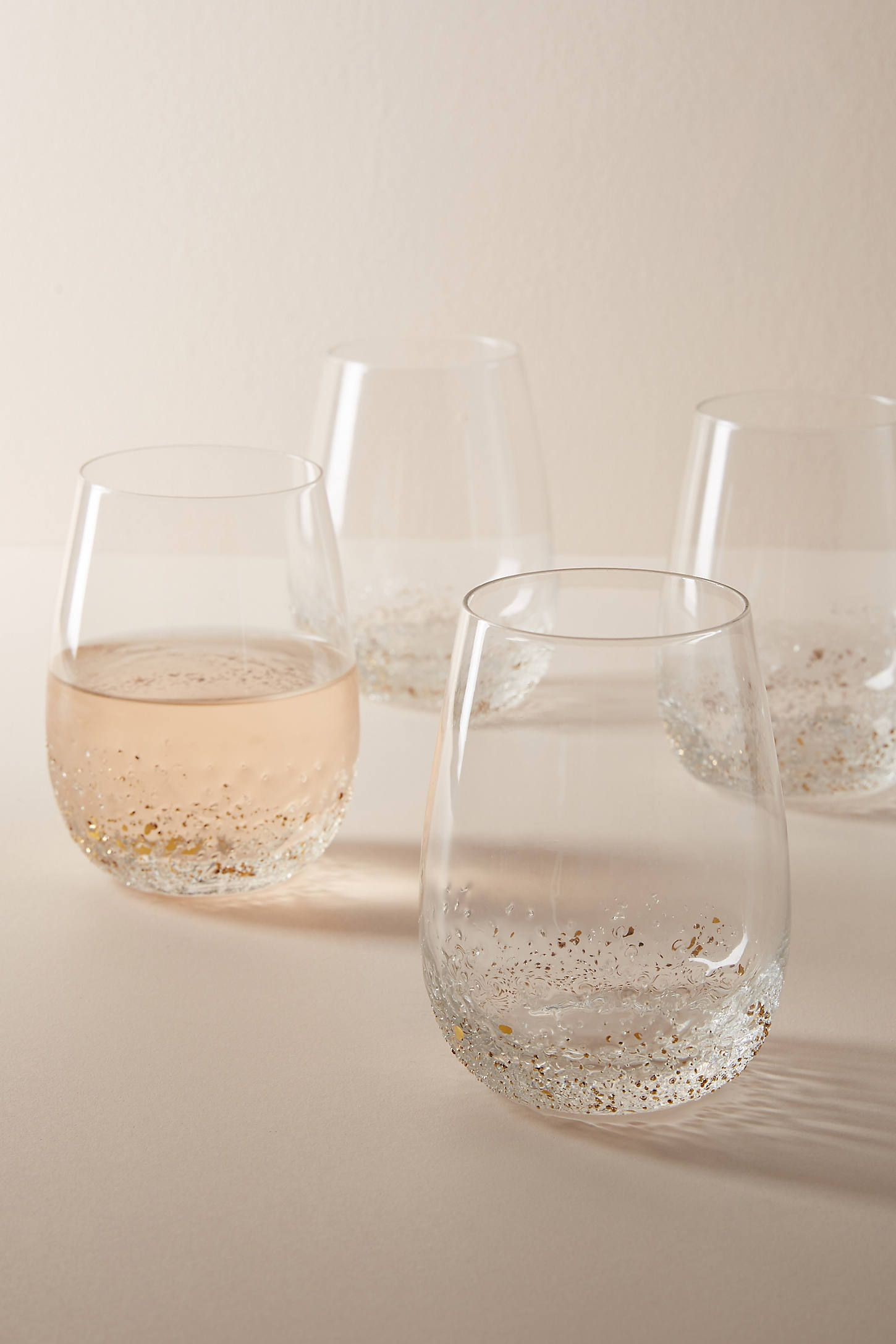 Volcania Stemless Wine Glasses, Set of 4