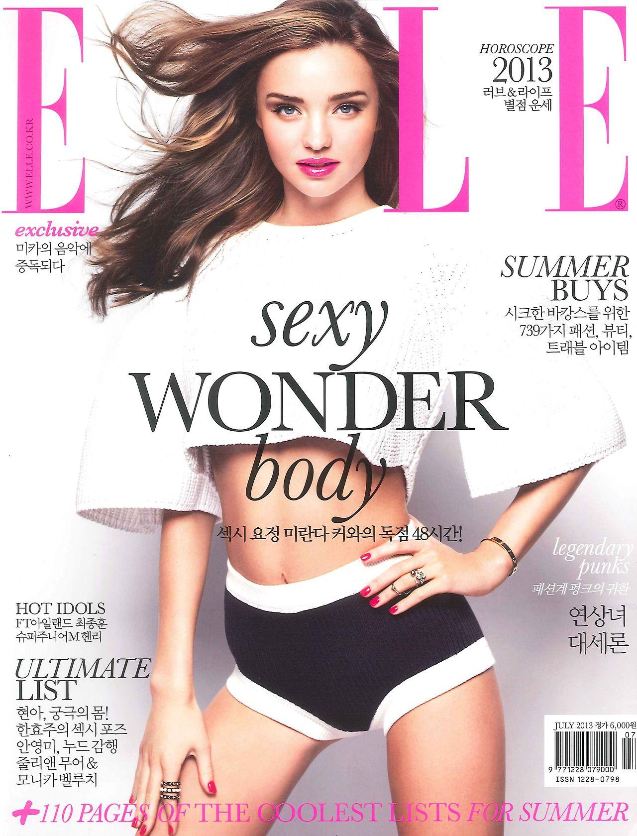 Miranda Kerr - Elle, Korea, July 2013