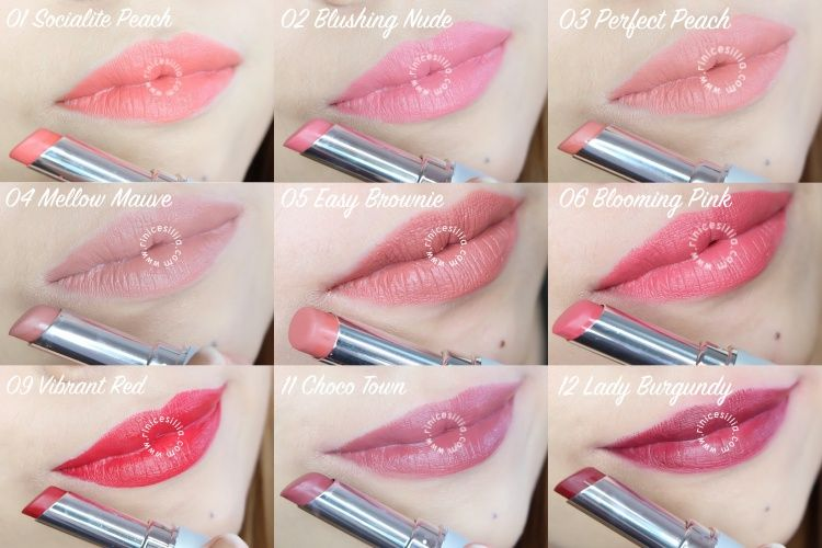 Wardah Intense Matte Lipstick Swatches And Review Makeup