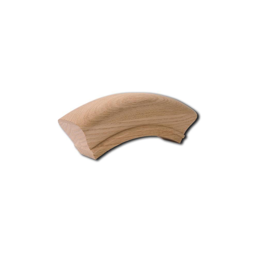 Best 7213 Over Easing Wood Handrail Fitting Wood Handrail 400 x 300