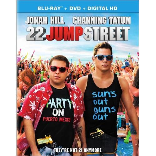 22 Jump Street 2 Discs Includes Digital Copy Blu Ray Dvd