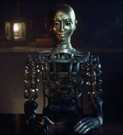 Automaton. Will it kill you? Keep sharp objects away from its right hand.