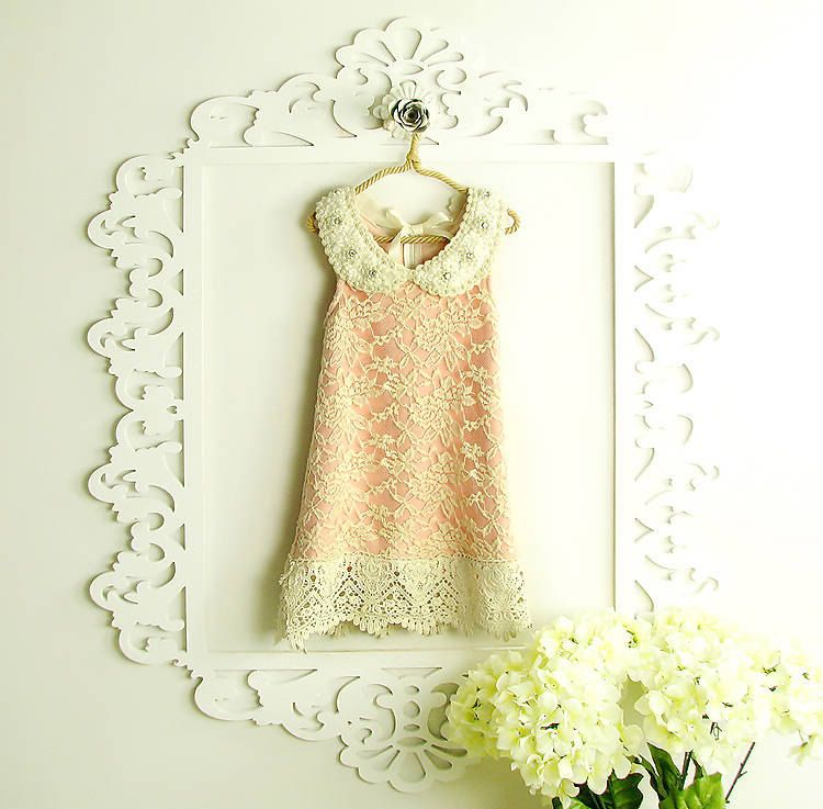 Flower Girl Dress  Lace Flower girl dress  Baby Lace by AmazinGems, $48.99,   LOVE LOVE LOVE. Perfect