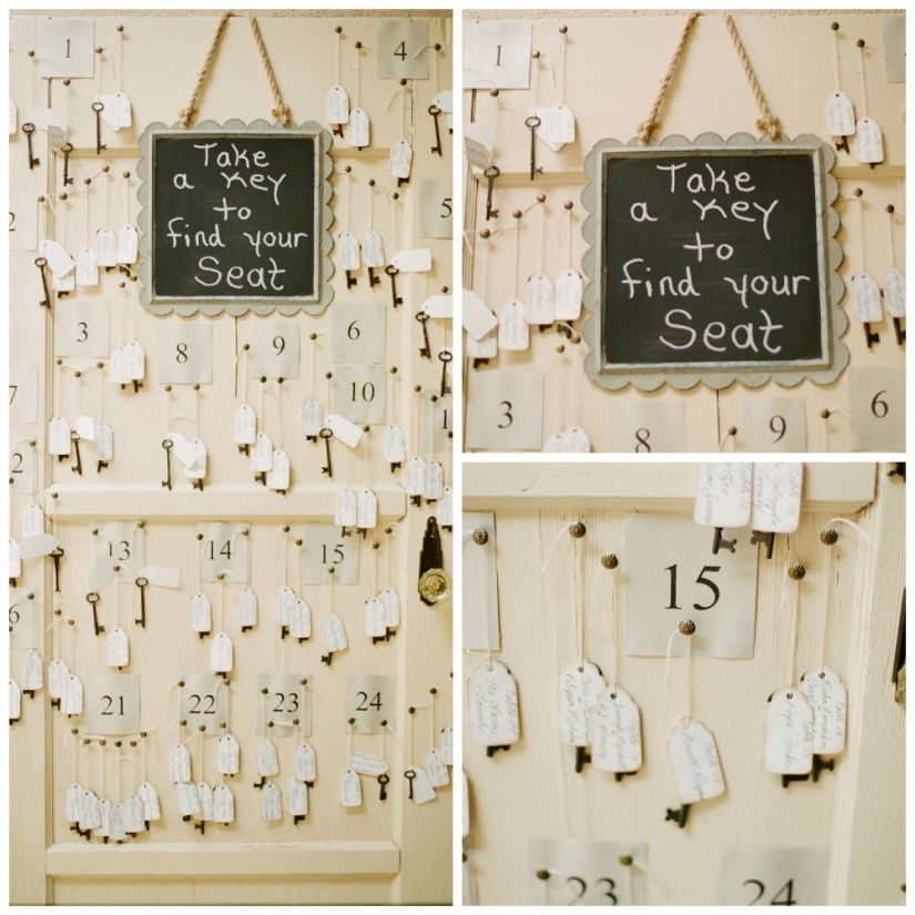 Door And Key Seating Chart  Classic Touch Events