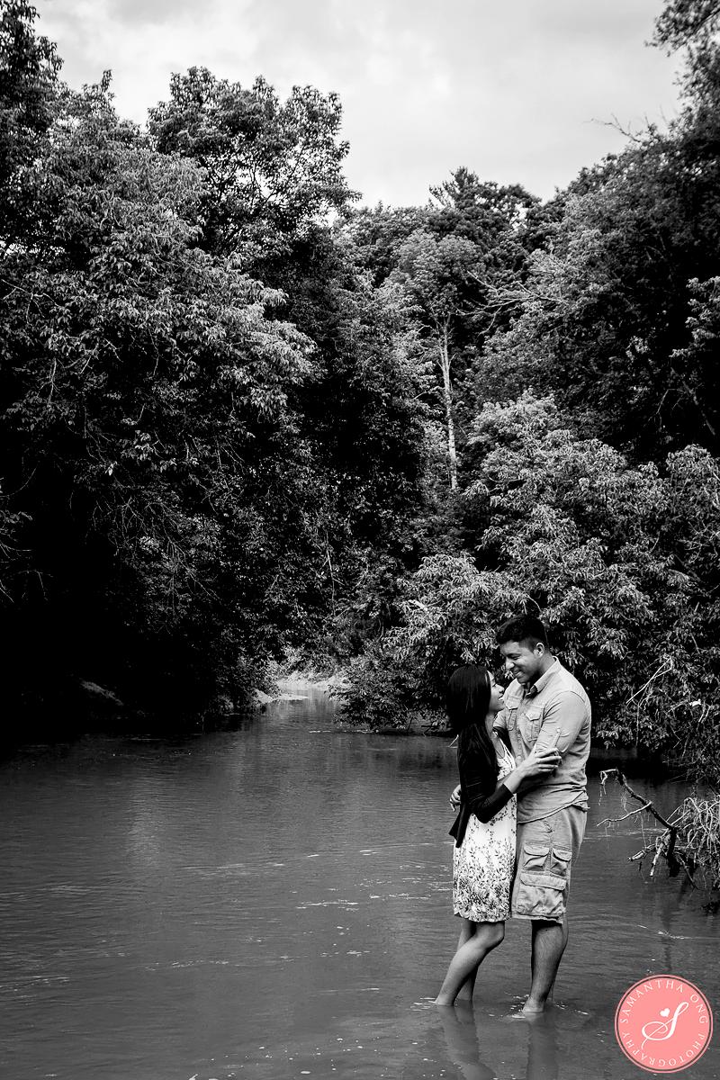Rouge River Pickering Engagement Shoot Toronto Wedding