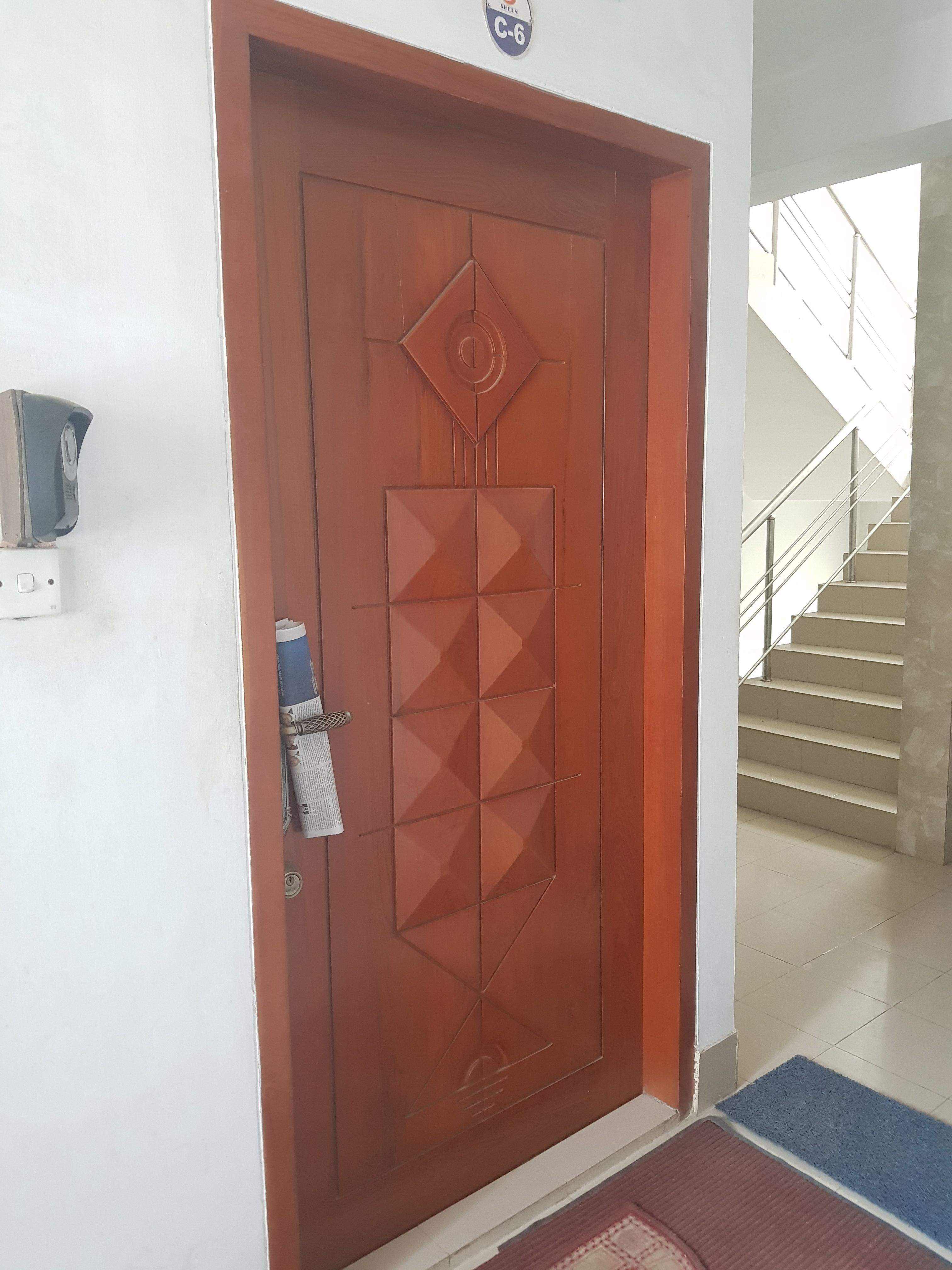 Pin By Zahid Hasan On Door Modern Simple House Main Door Design House Main Door Door Design