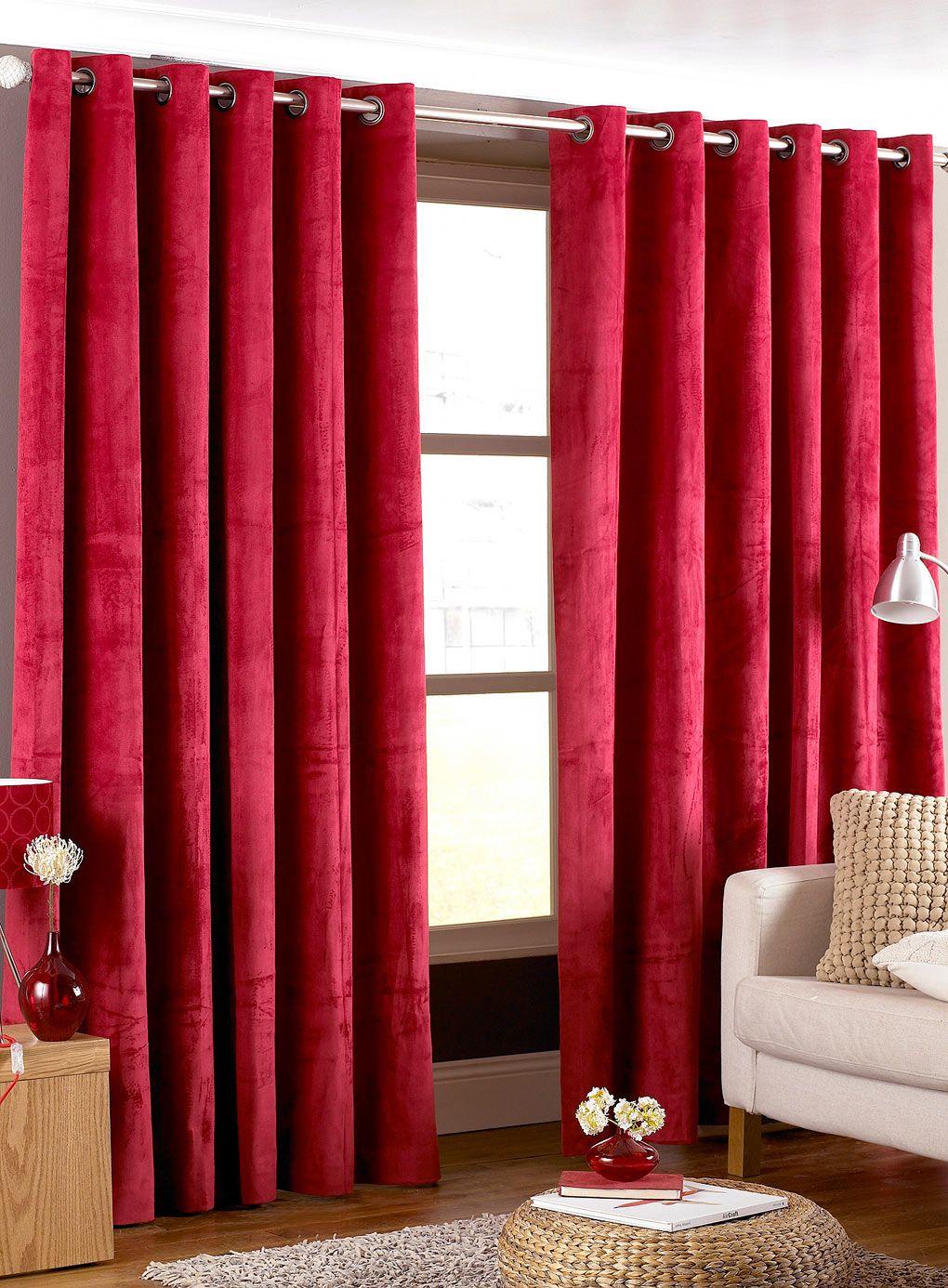 20 Hottest Curtain Design Ideas For 2020 Pouted Com Curtains Living Room Red Curtains Living Room Curtain Designs #red #and #grey #curtains #for #living #room