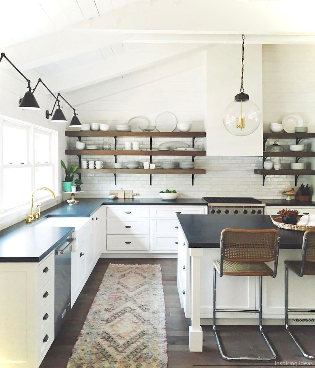 small apartment kitchen ideas on a budget 8 farmhouse kitchen decor modern farmhouse on farmhouse kitchen on a budget id=33770