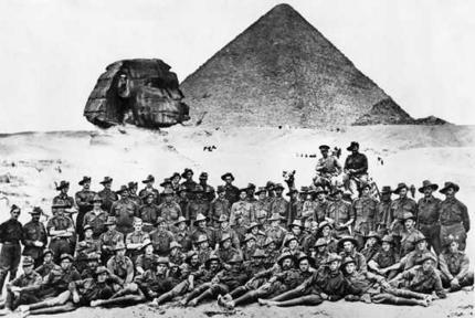 Australian Army in Egypt.