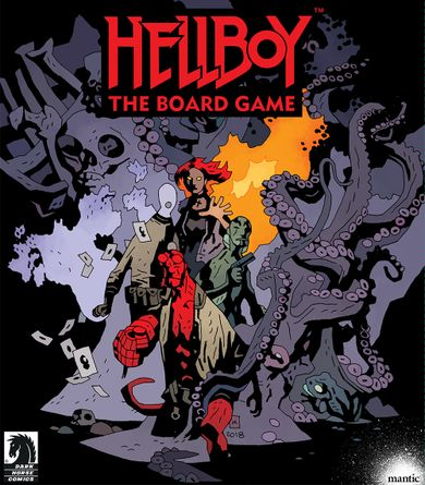 Hellboy The Board Game is a cooperative experience in