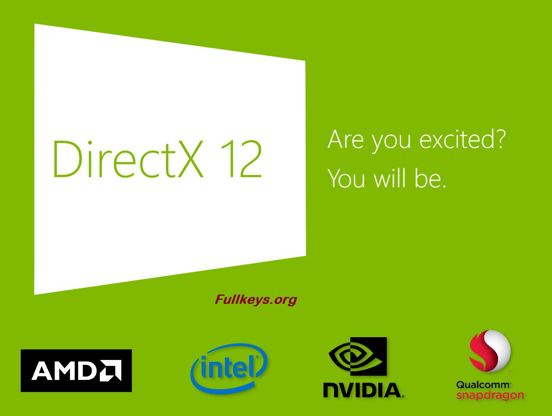 Directx 12 скачать для windows 10 64 bit скачать.
