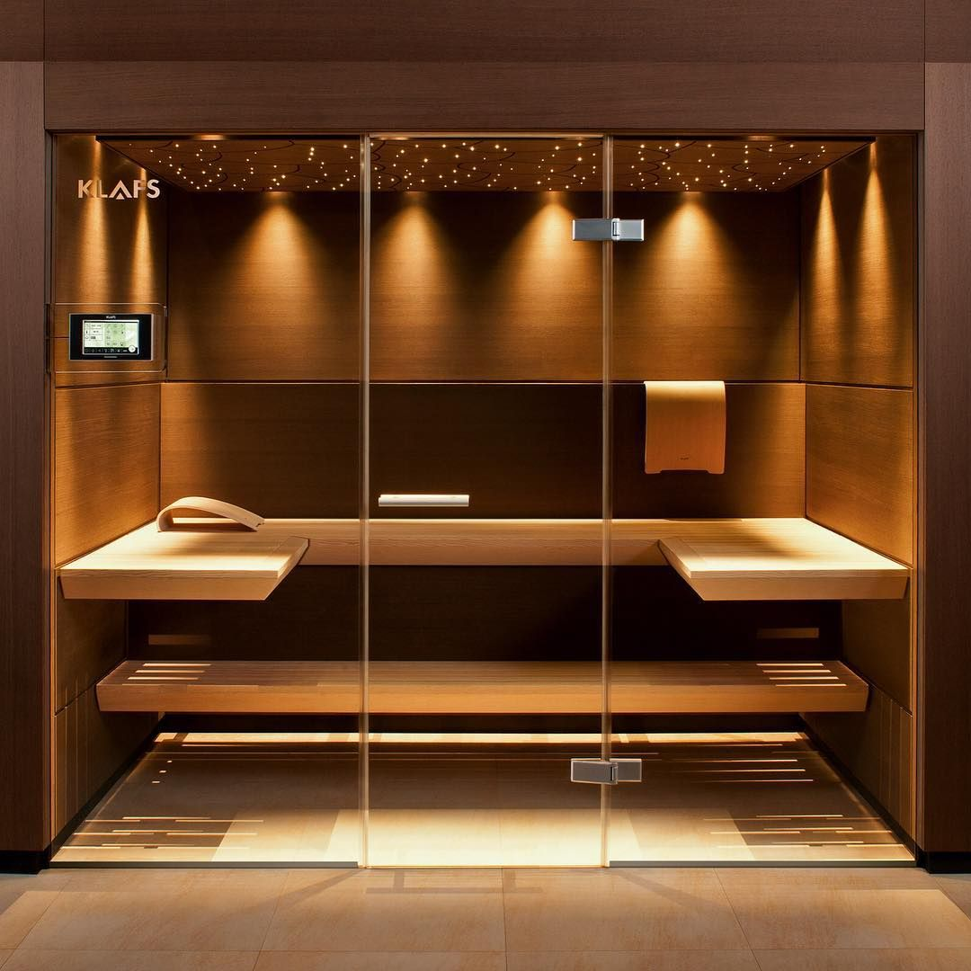 KLAFS Sauna Casena, with amazing design and relaxing ambience ...