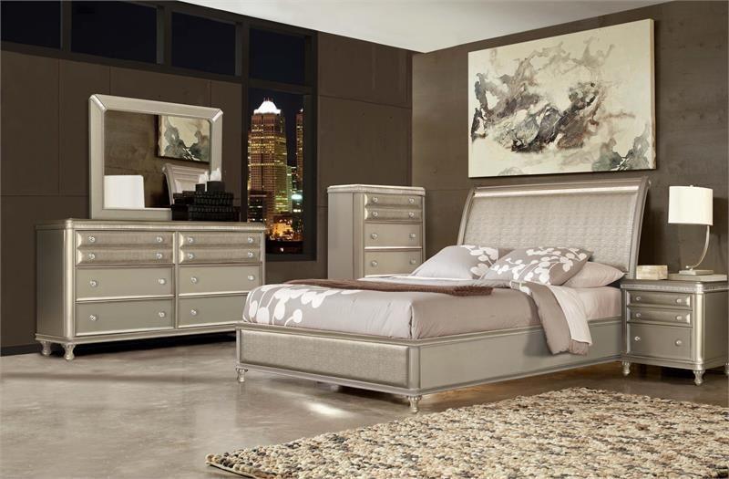 Mcferran B309 4 Piece Bedroom Set Las Vegas Furniture Online