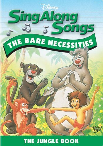 Sing Along Songs The Bare Necessities Sing Along Songs Sing