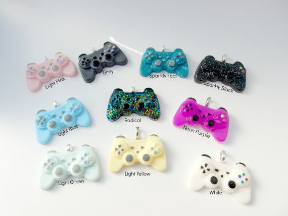 Mini Playstation Controller by AdorkableYou on Etsy