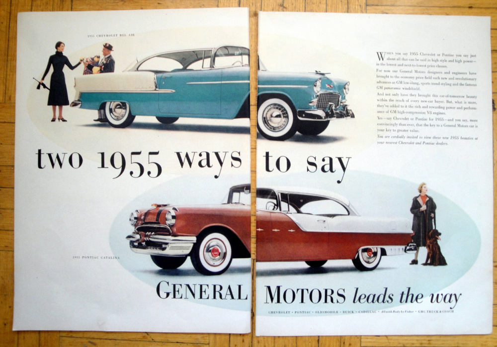 1955 Chevrolet Bel Air + CatalinaOriginal 2 Page 13.5