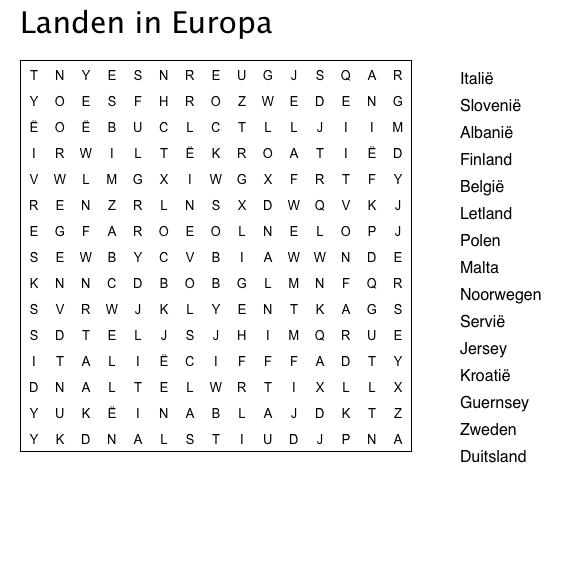 Kleurplaat Marcus 6 Woordzoeker Landen Van De Wereld Recherche Google