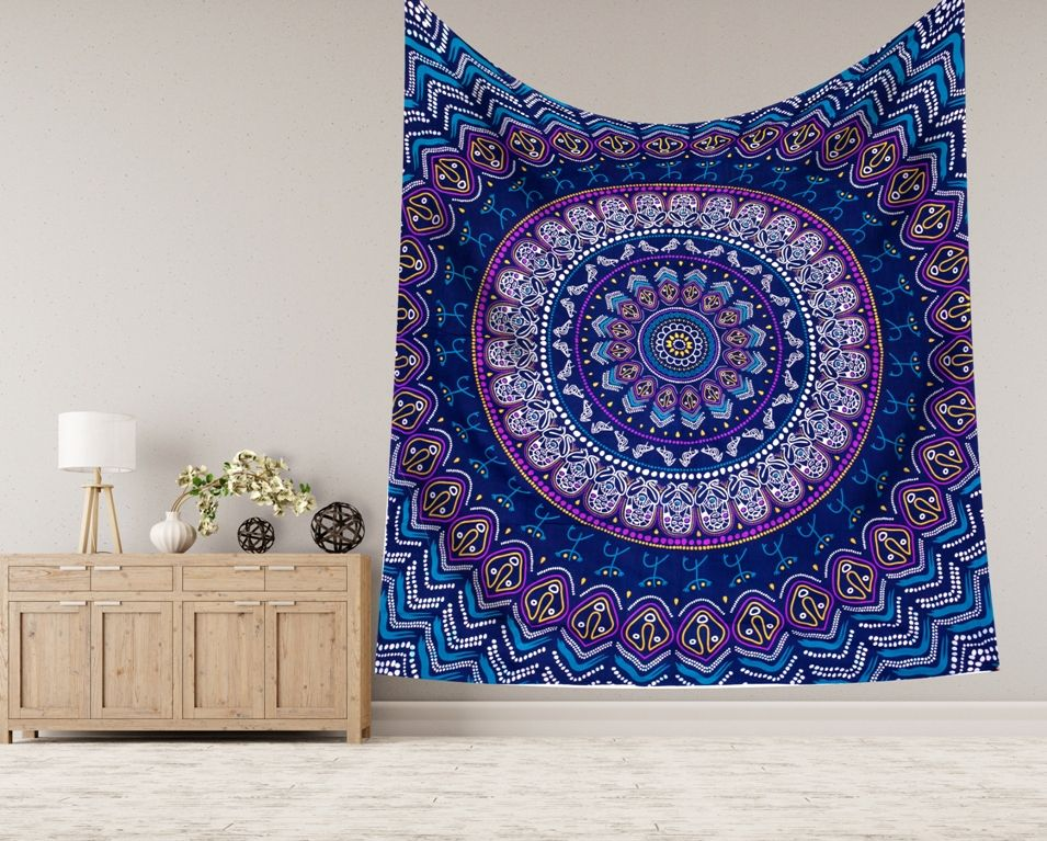 African Mandala Wall Decor Queen Tapestries Tapestry