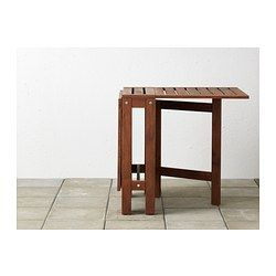 ÄpplarÖ Gateleg Table Brown 79 00 Article Number 502 085 35 Two Folding Drop Leaves Allow You To Adjust The Size According T