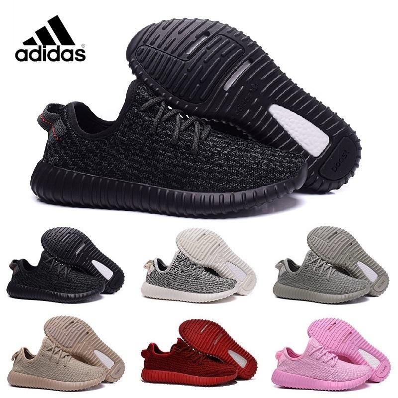Good quality 2016 New Original High Quality 350 Boostes Kanyes West Yezzys  Men\u0027S And Women Black Gray size Price: PKR