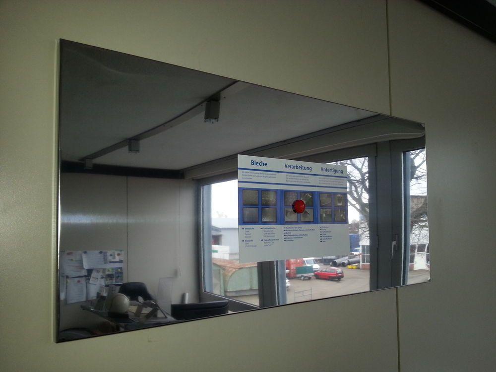 Magnetwand magnettafel spiegel effekt edelstahl 1500x500 mm pinwand pinboard in b ro - Magnetwand ikea ...