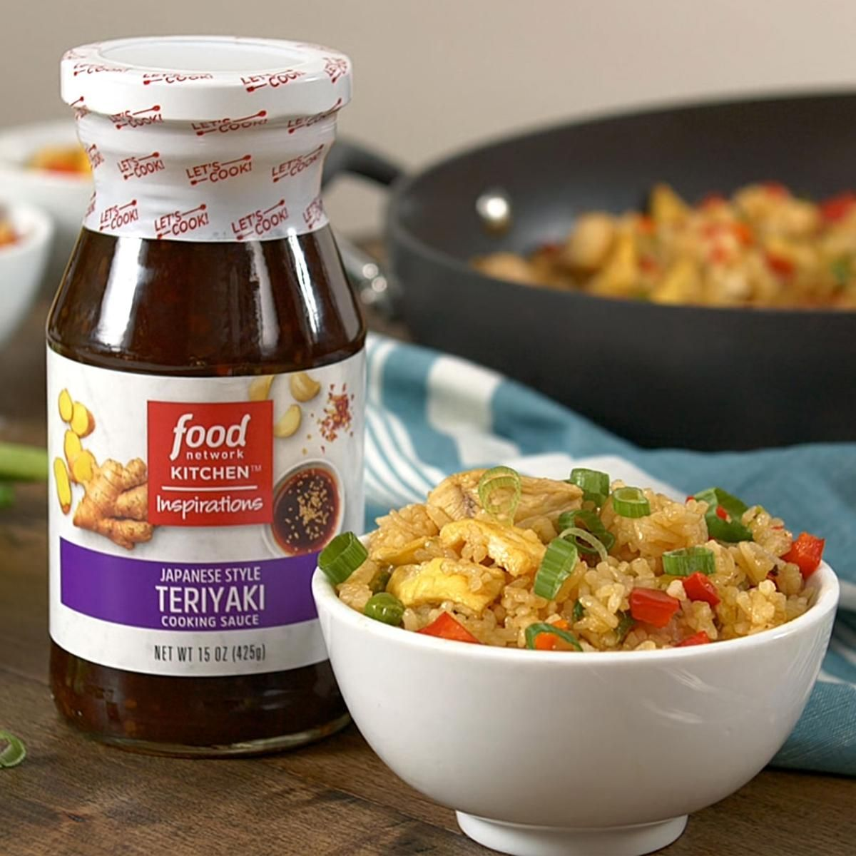 Teriyaki sauce from food network kitchen inspirations is the key to teriyaki sauce from food network kitchen inspirations is the key to perfect fried rice forumfinder Choice Image