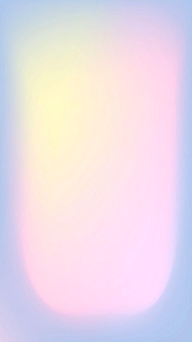 Download free vector of Gradient blur soft pink pastel phone wallpaper