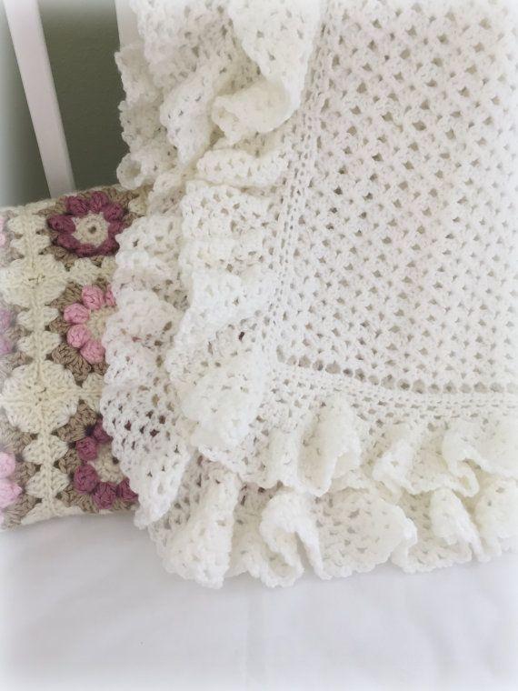 Crochet Pattern, Crochet Baby Blanket Pattern, Baby Blanket Pattern ...