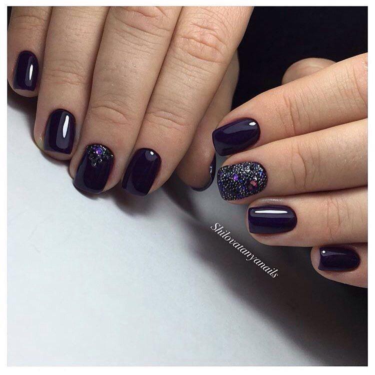 Nail Art #3166 - Best Nail Art Designs Gallery | Plain nails, Caviar ...