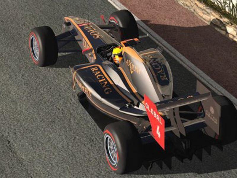 rFactor 2 : ISI Formula (2011) Masters 1 00   Ferrari   Car mods