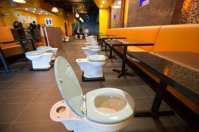 New Toilet Themed Restaurant In La