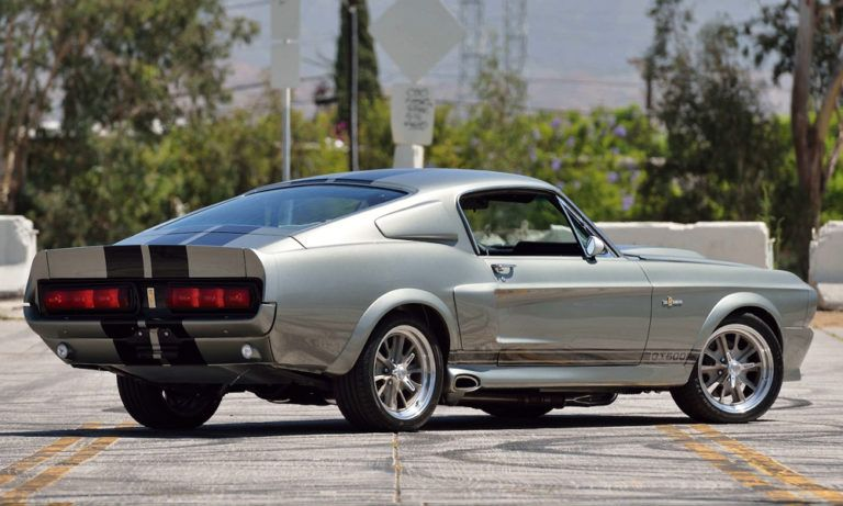 The Eleanor Mustang Shelby Gt500 From Gone In 60 Seconds Is