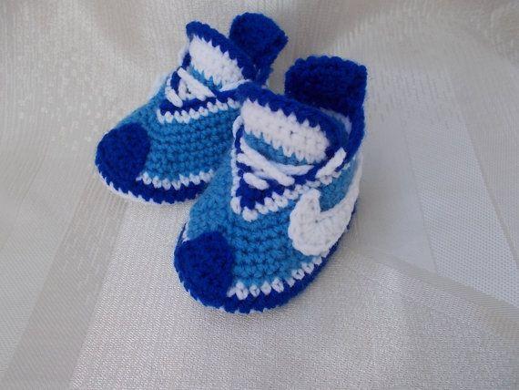 Gehaakte Babyslofjes Baby Nike Sneakers Baby Converse Haken