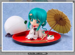 "Snow Miku's marriage to you? Nendoroid of ""Ver. Strawberry pure white dress"", will start accepting orders for 2/10"