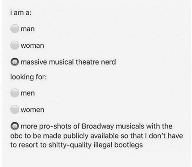 T H I S In 2020 Theatre Jokes Musical Theatre Broadway Musical Jokes
