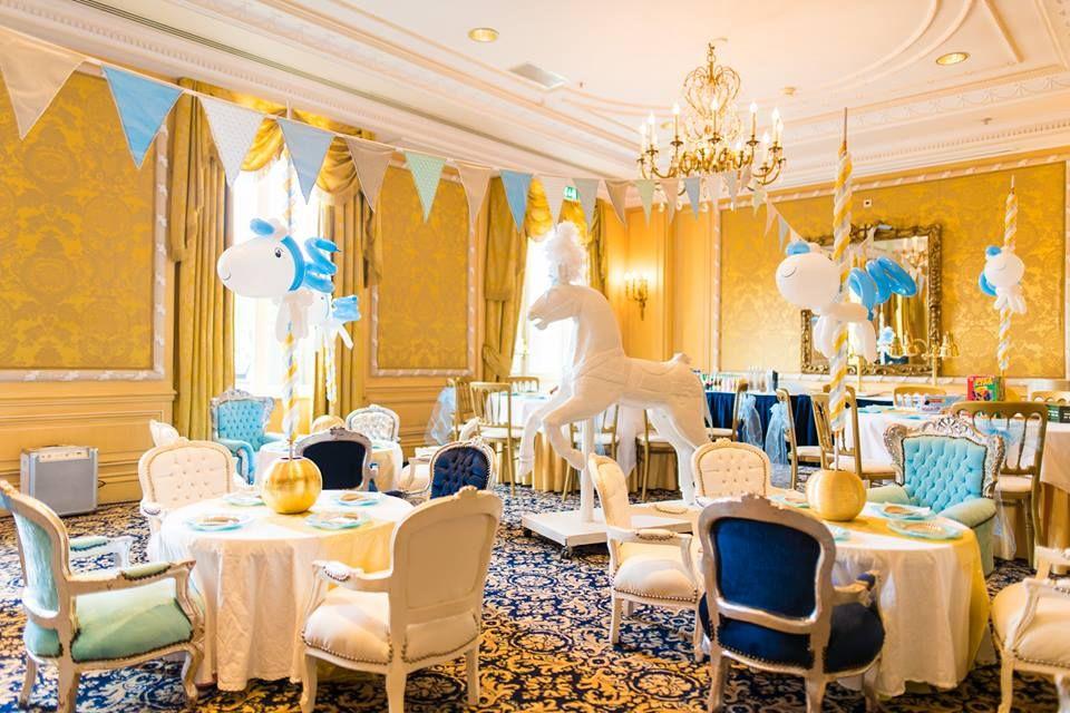 Golden Carousel Babyshower Cake Decor Baby Shower Ideas Pinterest And