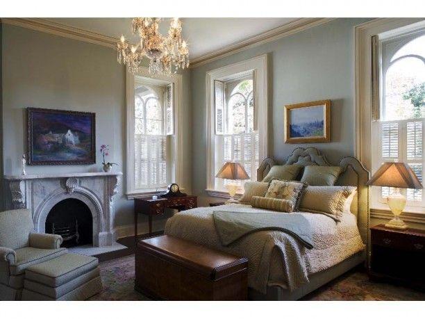 Master Bedroom Historic Home In Savannah Georgia