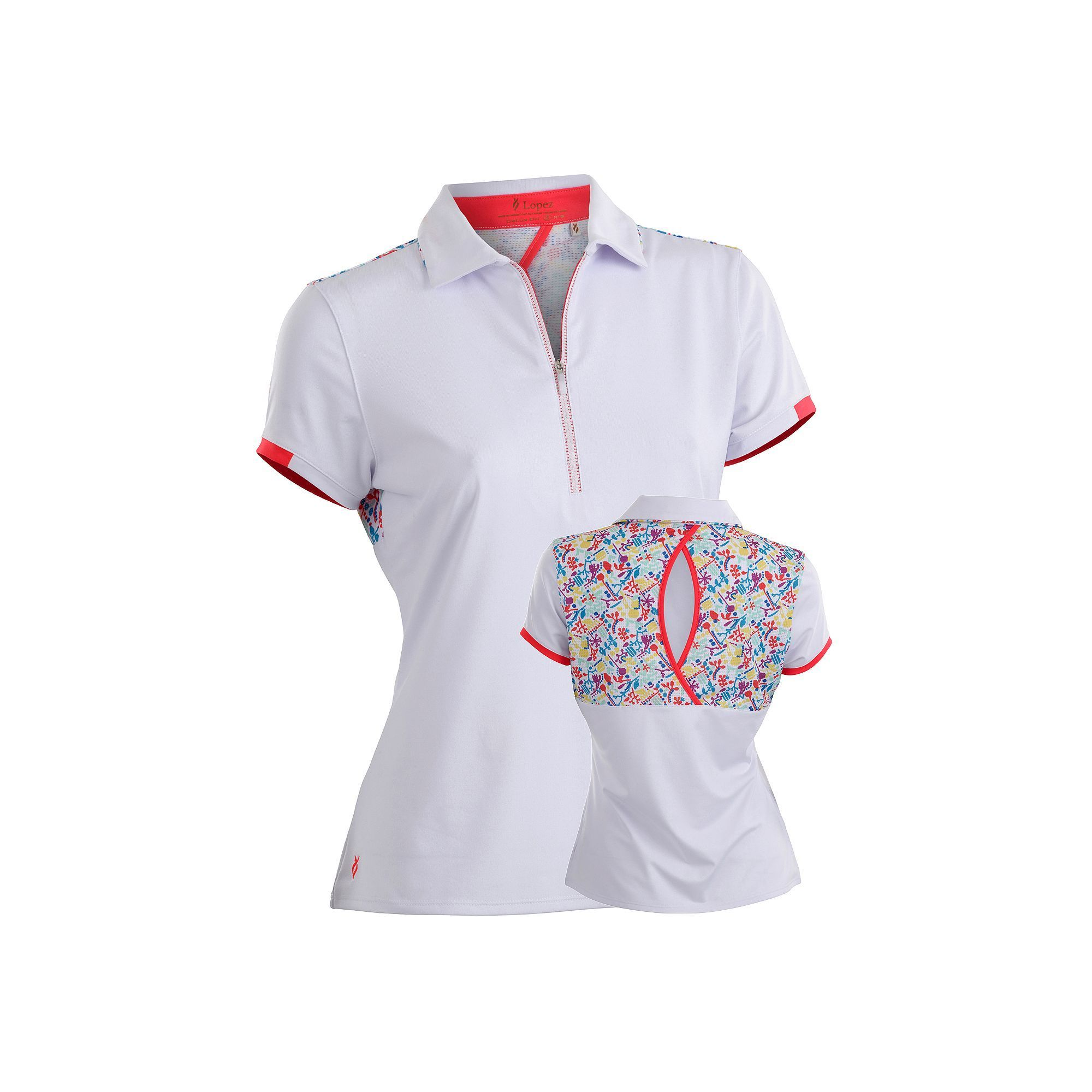 Plus Size Womens Golf Polo Shirts