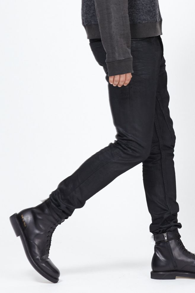 038e0c4676f1d Totokaelo MAN - Common Projects Black Combat Boot