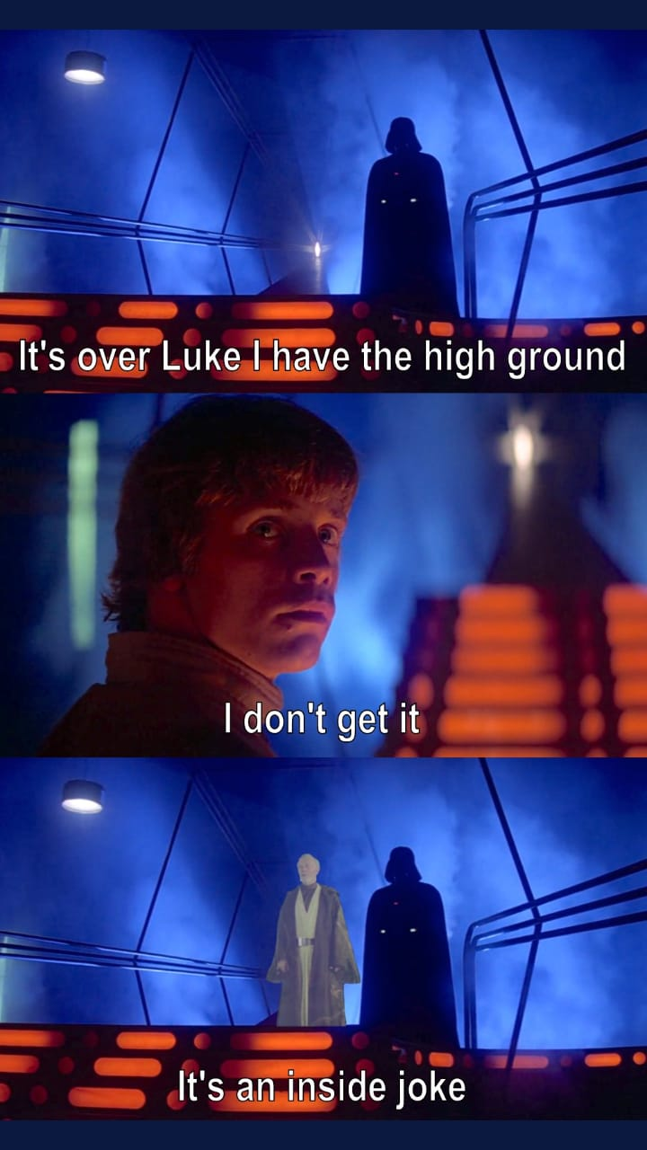 42 Star Wars Memes That Aren T A Force Funny Gallery Star Wars Jokes Star Wars Facts Star Wars Memes