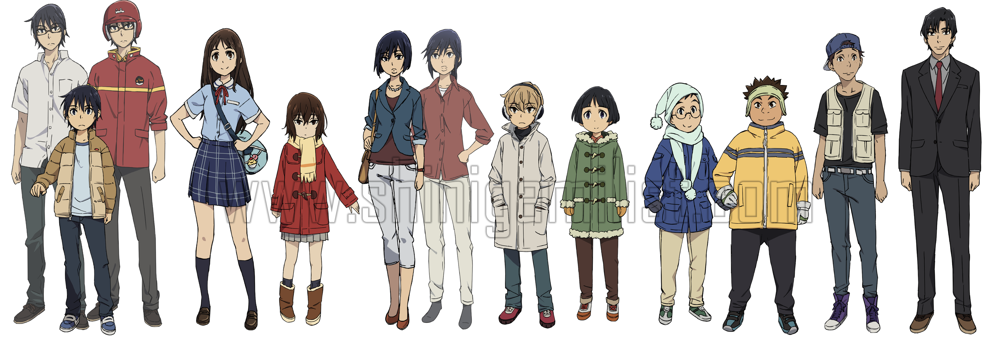 Bokumachi Characters Anime Reviews Anime Store Anime