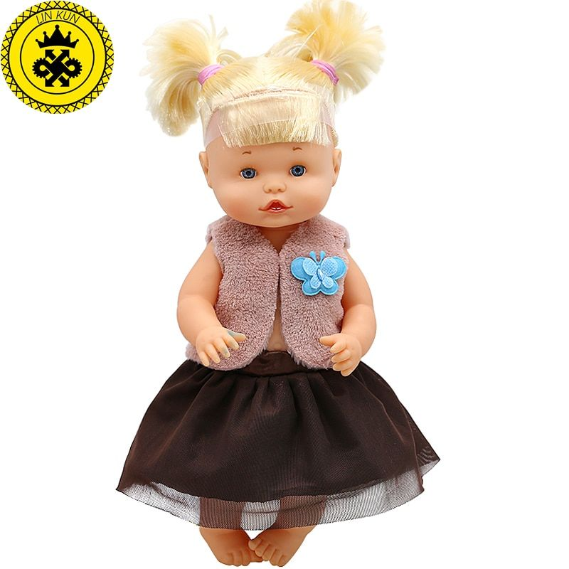 Doll Clothes Brown sleeveless jacket + lace skirt Suit Fit 33-35cm 14inch Doll Spanish Doll Accessories 644 #spanishdolls