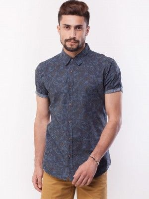 New Look Floral Print Shirt purchase from koovs.com | mens fashion ...