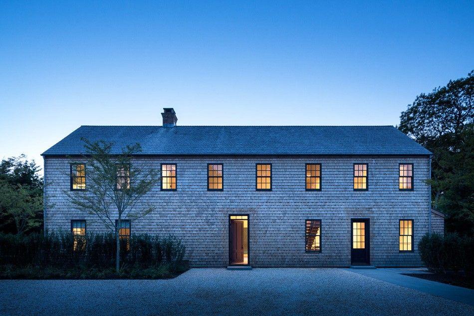 The Janson Goldstein Standard Barn House Design Architecture Facade House