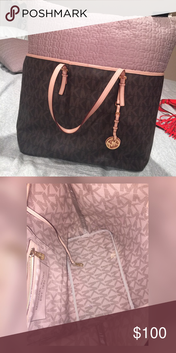 621730dbbeb1 LARGE Michael Kors Jet Set tote Used a few times, mint condition - No  Trades Michael Kors Bags Totes