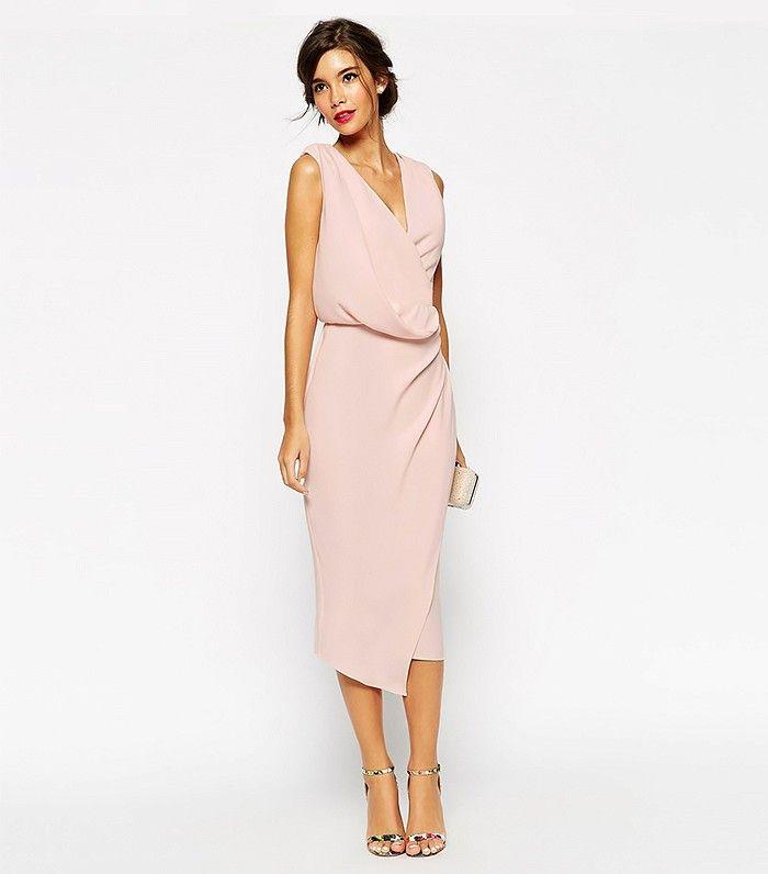 50 Gorgeous Dresses For Every Summer Wedding | Wedding wraps, Midi ...