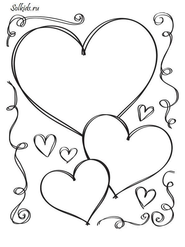 Hearts | Coloring pages | Pinterest | Ausmalbilder, Muttertag und ...