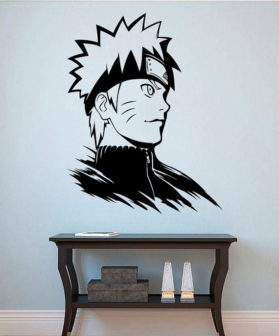 anime wall vinyl decal naruto wall vinylkellywallstickers