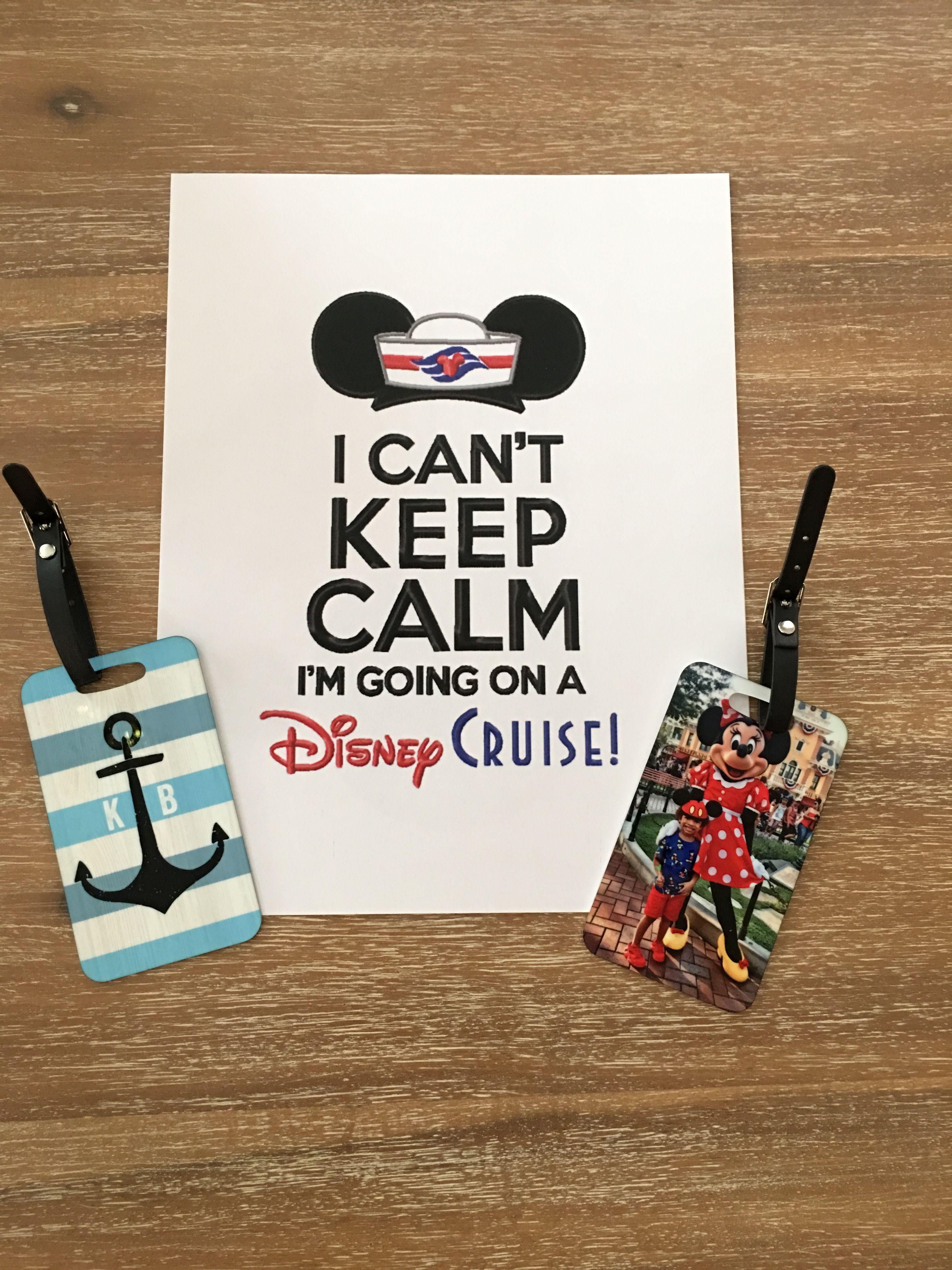 Disney Cruise Line Luggage Tag